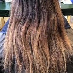ロング ガーリー トレンド スポーツ ヘアスタイルや髪型の写真・画像