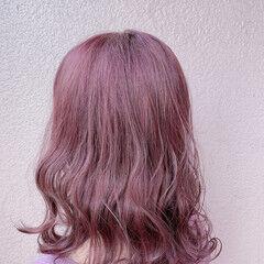 透明感カラー 大人可愛い アンニュイほつれヘア デート ヘアスタイルや髪型の写真・画像