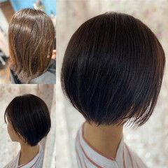 ショートヘア ショート ベリーショート 髪質改善 ヘアスタイルや髪型の写真・画像