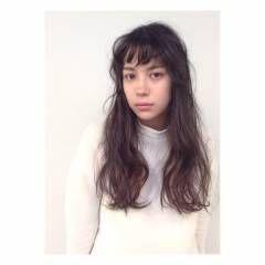 外ハネ フェミニン ゆるふわ ロング ヘアスタイルや髪型の写真・画像
