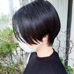 ショート モード ショートボブ ショートヘア ヘアスタイルや髪型の写真・画像