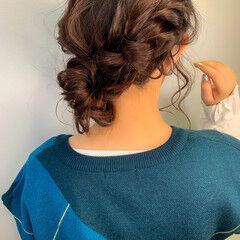 ヘアアレンジ カジュアル 簡単ヘアアレンジ ナチュラル ヘアスタイルや髪型の写真・画像