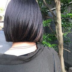 かっこいい ボブ デート ミニボブ ヘアスタイルや髪型の写真・画像