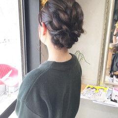 ナチュラル 結婚式 ヘアアレンジ アンニュイほつれヘア ヘアスタイルや髪型の写真・画像