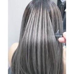 3Dハイライト ハイライト コントラストハイライト ストリート ヘアスタイルや髪型の写真・画像