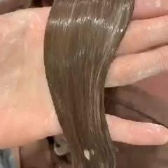 最新トリートメント 髪質改善トリートメント 超音波 ロング ヘアスタイルや髪型の写真・画像