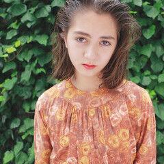 ヘアアレンジ 束感 ナチュラル オールバック ヘアスタイルや髪型の写真・画像