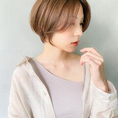 パーティ 表参道 パーマ ミニボブ ヘアスタイルや髪型の写真・画像