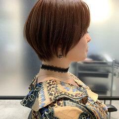 ベリーショート ショートヘア ショートボブ インナーカラー ヘアスタイルや髪型の写真・画像