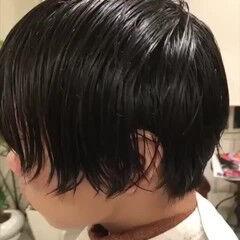 ショートマッシュ メンズマッシュ ショート ウルフカット ヘアスタイルや髪型の写真・画像