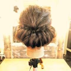 ギブソンタック 大人かわいい ナチュラル 春 ヘアスタイルや髪型の写真・画像