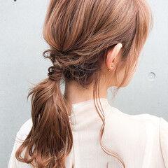 エレガント ゆるふわセット 簡単ヘアアレンジ 結婚式ヘアアレンジ ヘアスタイルや髪型の写真・画像