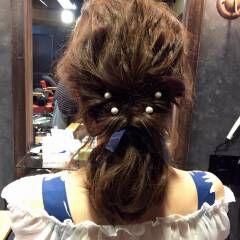 ロープ編み ショート 簡単ヘアアレンジ ヘアピン ヘアスタイルや髪型の写真・画像