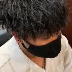 ツイスト ショート ツイスパ メンズパーマ ヘアスタイルや髪型の写真・画像