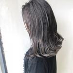 ストリート セミロング 艶髪