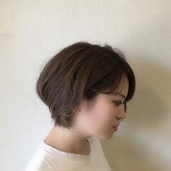大人グラボブ ショートボブ 大人かわいい ショート ヘアスタイルや髪型の写真・画像
