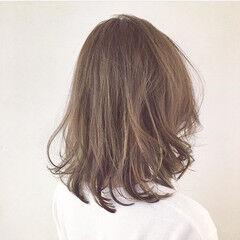 ストリート ミディアム インナーカラー 外国人風 ヘアスタイルや髪型の写真・画像