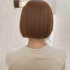 ショートヘア 地毛ハイライト ショートボブ ボブ ヘアスタイルや髪型の写真・画像