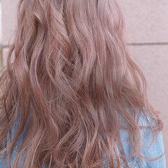 バレイヤージュ ナチュラル ロング 学生 ヘアスタイルや髪型の写真・画像