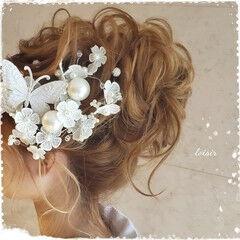 和髪 ヘアセット ロング 着物 ヘアスタイルや髪型の写真・画像