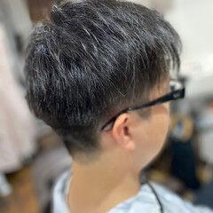 エレガント スキンフェード メンズスタイル 薄毛改善 ヘアスタイルや髪型の写真・画像