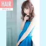 春 セミロング モテ髪 パンク