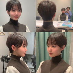 ショートヘア 広瀬すず 前髪 本田翼 ヘアスタイルや髪型の写真・画像