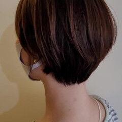 ハンサムショート ショートヘア ヘアカット ナチュラル ヘアスタイルや髪型の写真・画像