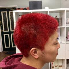 レッド スラムダンク オシャレ坊主 ストリート ヘアスタイルや髪型の写真・画像