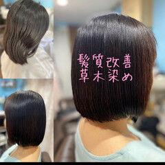 ミニボブ ボブ モード ショートボブ ヘアスタイルや髪型の写真・画像