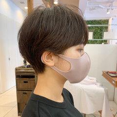 ショートヘア ショート マッシュショート ショートマッシュ ヘアスタイルや髪型の写真・画像