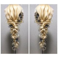 ナチュラル 結婚式 ヘアアレンジ 成人式ヘア ヘアスタイルや髪型の写真・画像