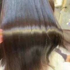 ナチュラル ブリーチ無し ロング 髪質改善 ヘアスタイルや髪型の写真・画像