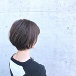 ナチュラル ショート ショートボブ 艶髪