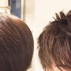 マッシュウルフ マッシュMIX メンズマッシュ マッシュショート ヘアスタイルや髪型の写真・画像