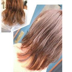 髪質改善トリートメント イメチェン 夏のヘアケア対策 インナーカラー ヘアスタイルや髪型の写真・画像