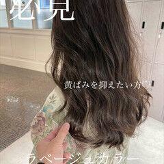 大人ハイライト ナチュラル 極細ハイライト インナーカラー ヘアスタイルや髪型の写真・画像