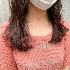 韓国ヘア ナチュラル ゆるふわパーマ デジタルパーマ ヘアスタイルや髪型の写真・画像