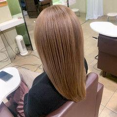 艶髪 ハイトーン 外国人風カラー ロング ヘアスタイルや髪型の写真・画像