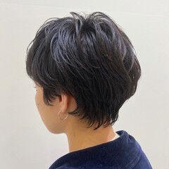 ショートボブ ショートヘア ショートアレンジ ハンサムショート ヘアスタイルや髪型の写真・画像