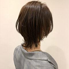 ガーリー ウルフカット ショートボブ 外ハネ ヘアスタイルや髪型の写真・画像