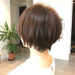 ショートヘア ふんわりショート ふんわり 可愛い ヘアスタイルや髪型の写真・画像