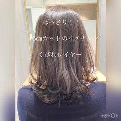 デジタルパーマ パーティー 大人かわいい アンニュイほつれヘア ヘアスタイルや髪型の写真・画像