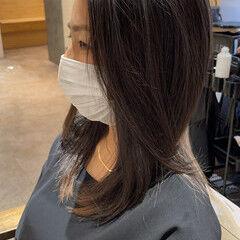 ロングヘアスタイル 大人ロング ナチュラル ブリーチオンカラー ヘアスタイルや髪型の写真・画像