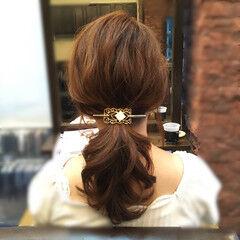 波ウェーブ セルフヘアアレンジ ショート ミディアム ヘアスタイルや髪型の写真・画像