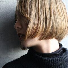 ミニボブ ヘアメイク ボブ 春ヘア ヘアスタイルや髪型の写真・画像