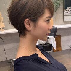 ヘアスタイル 吉瀬美智子 ショートボブ ショートヘア ヘアスタイルや髪型の写真・画像