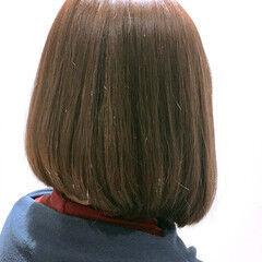 まとまるボブ モテボブ ボブ ブランジュ ヘアスタイルや髪型の写真・画像
