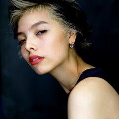 モード ショート 阿藤俊也 クリエイティブ ヘアスタイルや髪型の写真・画像