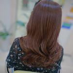 ヨシンモリ 韓国ヘア 巻き髪 ロング